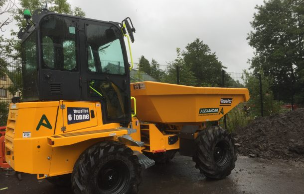 Forward Tipping Dumper with Cab